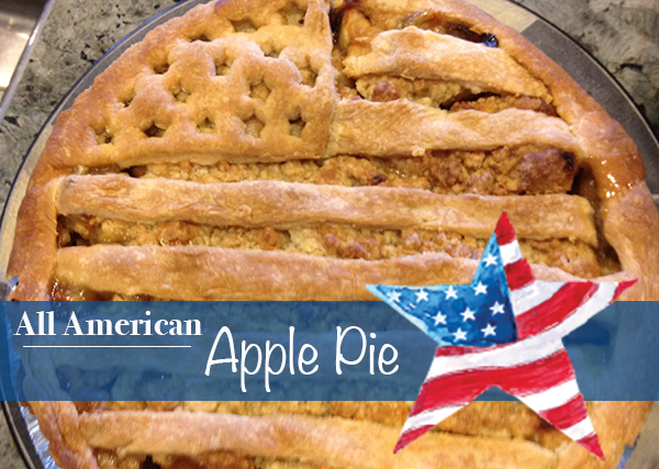 All American Apple Pie Recipe | Paige Hemmis
