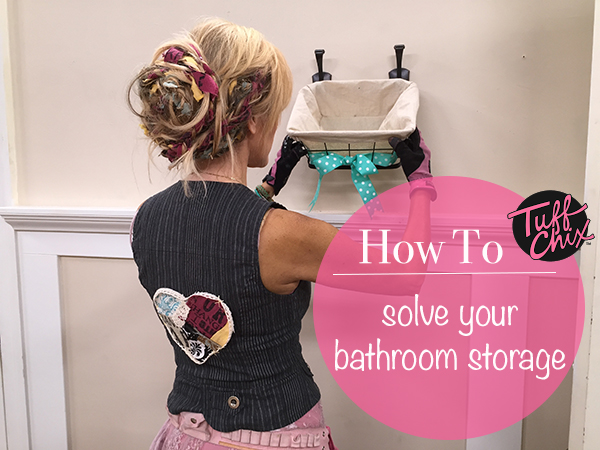 Bathroom storage Feature