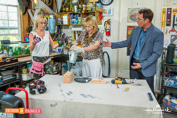 Nail gun 101 paige hemmis mark steines and cristina ferrare welcome actress christina pickles and talk about her new series prinsesfo Image collections