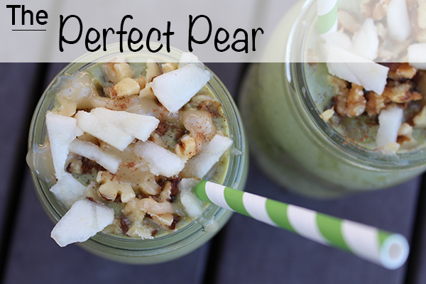 The perect pear smoothie2