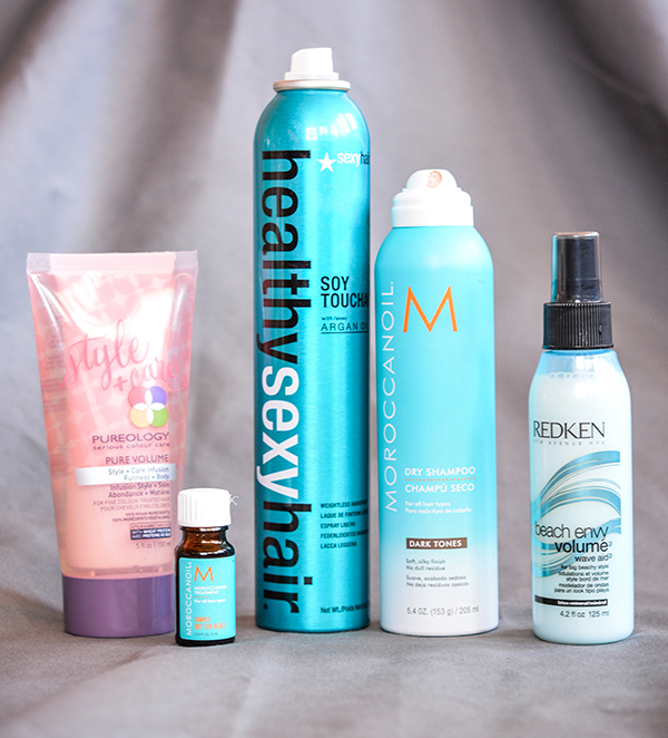 spring hair products feature 1