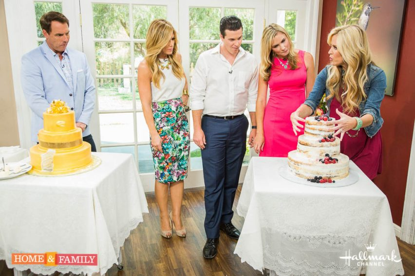 """Mark Steines and Debbie Matenopoulos welcome actors Jack Wagner and Josie Bissett from the Hallmark Channel original movie, """"The Wedding March."""" Actress Joey King is talking about her highly anticipated movie, """"Independence Day: Resurgence. Chef Alejandra Schrader is cooking delicious Venezuelan chicken empanadas. Professional endurance athlete Colin O'Brady, who holds the world record holder for speed in the Explorers Grand Slam and Seven Summits, visits our home. """"Home & Family"""" Ultimate Craft-Off finalist, Jennifer Stagg, is making a DIY firework s'mores station for the 4th of July. """"Home & Family"""" Ultimate Craft-Off finalist, Debbie Beard, is making a DIY American flag bookcase for the 4th of July. Paige Hemmis has the current wedding cake trends with the winners of the 27th season of """"The Amazing Race,"""" engaged couple Kelsey Gerckens and Joey Buttitta. Kym Douglas shows you the coolest ways to camp in comfort and style. Dan Kohler is breaking down the science of marshmallows.  Credit:  Copyright 2016 Crown Media United States, LLC/Photographer:  jeremy lee/Alexx Henry Studios, LLC"""