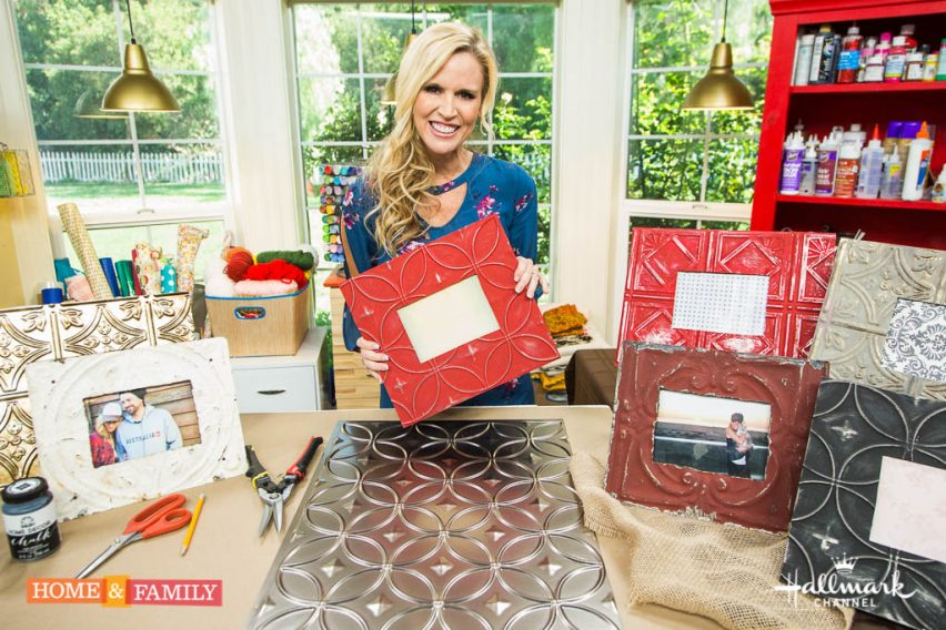 """Mark Steines and Debbie Matenopoulos welcome Connie Stevens and her daughter Joely Fisher. Actor Benjamin Hollingsworth talks about CBS' """"Code Black."""" The author of """"Damn Delicious,"""" Chungah Rhee makes chicken lettuce wraps. Best Home Cook winner Dina Deleasa-Gonsar makes a delicious chicken marsala with a pancetta cream sauce. Kym Douglas has tips and tricks for pain relief. Paige Hemmis shows you DIY antique metal photo frames. Dr. JJ Levenstein has important information about what's new in health. Ken Wingard creates a spooky Halloween graveyard crypt. Dan Kohler is breaking down the science of brain freeze and making slurpees. Credit:  Copyright 2016 Crown Media United States, LLC/Photographer:  steve lucero/Alexx Henry Studios, LLC"""