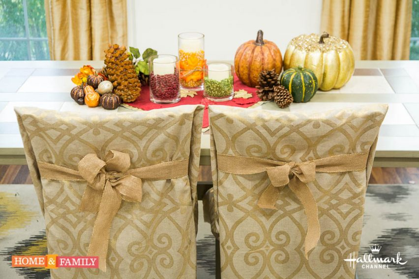 """It's our Thanksgiving show. Mark Steines and Debbie Matenopoulos welcome actor, director, and producer James Brolin from the Hallmark Movies & Mysteries original movie """"I'll Be Home for Christmas"""" and he cooks black bean pudding. Actress Kristin Davis talks about the Hallmark Hall of Fame movie """"A Heavenly Christmas."""" CBS' """"Code Black"""" actor, Luis Guzmán visits our home. Olympic figure skater Nancy Kerrigan joins us. Chef Rick Moonen shows you how to carve a turkey. Mark makes his mom's delicious fried bread. Orly Shani and Paige Hemmis team up for DIY last-minute holiday decor. Learn how to create recycled greeting card boxes with Ken Wingard. Our family shares their favorite Thanksgiving dishes. Credit: © 2016 Crown Media United States, LLC 