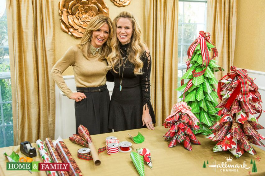 """Mark Steines and Debbie Matenopoulos welcome the hosts of the Hollywood Christmas Parade, Erik Estrada and Laura McKenzie. Actor Griffin Gluck from the movie """"Why Him?"""" is here. Filmmaker Brian Donovan talks about his documentary """"Kelly's Hollywood."""" """"Slangman"""" David Burke breaks down the latest slang. Chef Rose Lawrence bakes a sourdough tres leche cake. Dr. Bobby Pourziaee shows us how to save our feet from high heel hangover. Laura McKenzie shares last-minute travel tips. Debbie makes a Christmas meatloaf in a slow cooker. Create a beautiful wrapping paper tree with Paige Hemmis. Orly Shani has an adorable DIY elf ear hat for babies.  Credit: © 2016 Crown Media United States, LLC 