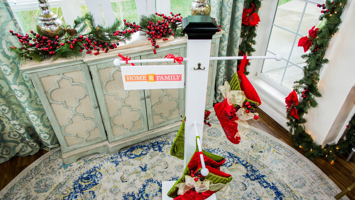 Christmas Stocking pole