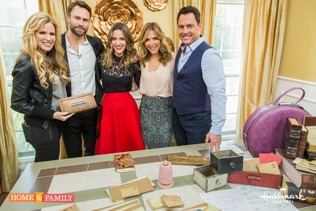 "Mark Steines and Debbie Matenopoulos welcome guest host and Hallmark star Jill Wagner. Jill and her fiance David Lemanowicz cook salmon with chipotle corn. Actress Katherine LaNasa from Bravo's ""Imposter"" joins us. Singer-songwriter Kari Kimmel treats us to a special performance. Jill's hairstylist Sienree Du shows us the hottest bridal hairstyles. Cyber security expert Greg Evans discusses new threats. Kym Douglas has shortcuts to everyday problems. Orly Shani is here with DIY personalized shawls. Paige Hemmis shows us DIY letters to a loved one.  Credit: © 2017 Crown Media United States, LLC 