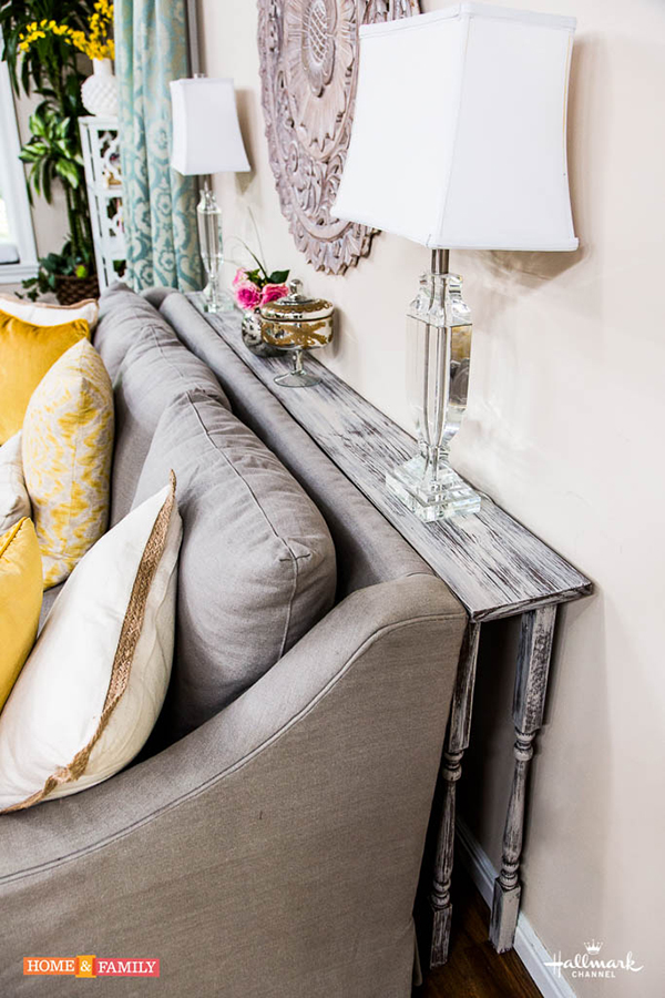 DIY Couch Table | Paige Hemmis