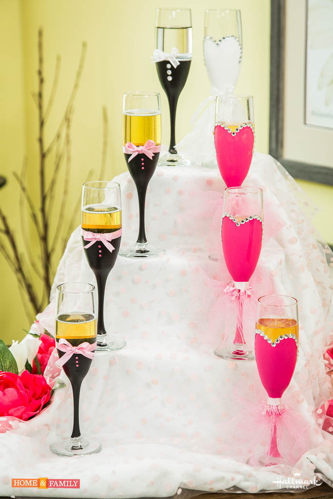 champagne decorations wedding diy decorative wedding champagne flutes hemmis 2543
